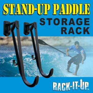 取外&取付可能! SUP (スタンドアップパドル)&パドル 専用サーフボードラック RACK-IT-UP(ラックイットアップ)|janis