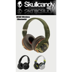 Skullcandy (スカルキャンディ ) ヘッドフォン  HESH2 Wireless Bluetooth (ヘッシュ ワイヤレス ブルー トュース)|janis