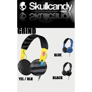 Skullcandy (スカルキャンディ ) ヘッドフォン GRIND (グラインド)|janis