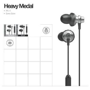 Skullcandy (スカルキャンディ ) ヘッドフォン HeavyMedal( ヘビーメタル )|janis
