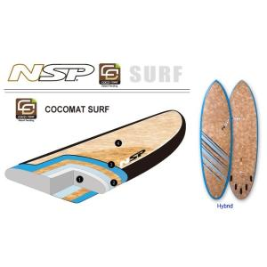 NSP surfboards  品番  CocoMat Hybrid 6'4