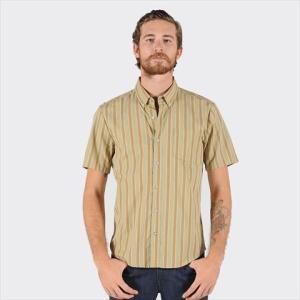 ボルコム ストライプ 半袖シャツ|janis