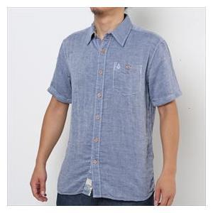 ボルコム 綿麻 半袖シャツ|janis