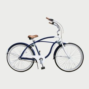 自転車  ザ ビーチクルーザー  26インチ メンズ ギア付 SIMANO内装3段|janis|02