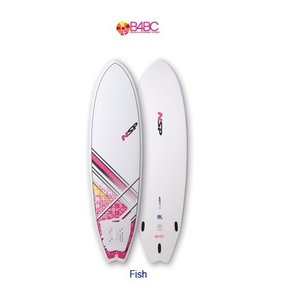 NSP surfboards  品番 B4BC Fish 6'0