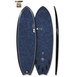 NSP surfboards  品番 CocoMat FISH Blue 5'6