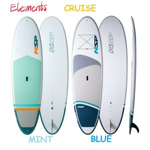 NSP surfboards スタンドアップパドルボード BLUE 品番 ELEMENTS CRUISE SUP  Stand Up Paddle  SUP 10'2