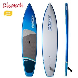 NSP surfboards スタンドアップパドルボード 品番 ELEMENTS FLATWATER SUP  Stand Up Paddle  SUP 12'6