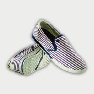 マクベス フットウェアー McQUEEN Stripes|janis