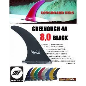 センターフィン ジョージ グリノー 4A 8.0 ブラック|janis