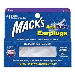 耳栓  マックス アクア ブロック MACK'S AQUA BLOCK|janis