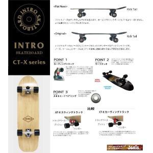 スケートボード  イントロ CT-X   34 ナチュラル ダイア|janis|02