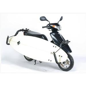 【法定クリアー】 レインボー スクーターバイク (原付) 用 サーフボードキャリアー janis 02