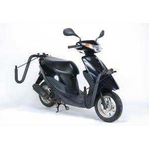 【法定クリアー】 レインボー スクーターバイク (原付) 用 サーフボードキャリアー janis 04