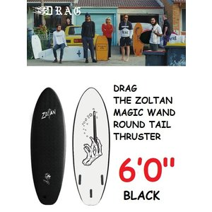 ソフトボード DRAG THE ZOLTAN MAGIC WAND 6'0