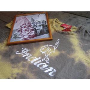 INDIANMOTOCYCLE インディアンモーターサイクル ムラ染めTシャツ|janis