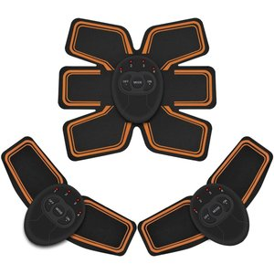 EMSIC 腹筋ベルト EMS 腹筋 腕筋 筋トレ器具 トレーニングマシーン 6種類モード 10段階...