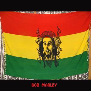 【メール便OK】ボブマーリー ラスタカラー ラスタフラッグ パレオにも★レゲエ ジャマイカの写真