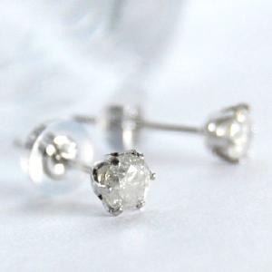 アウトレット品  Pt900 プラチナ 900 プラチナピアス ダイヤモンド 0.3ct 天然ダイヤモンド スタッドピアス 日本製 大人 上品|japan-couture