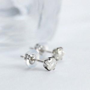アウトレット品  Pt900 プラチナ 900 プラチナピアス ダイヤモンド 0.3ct 天然ダイヤモンド スタッドピアス 日本製 大人 上品|japan-couture|02