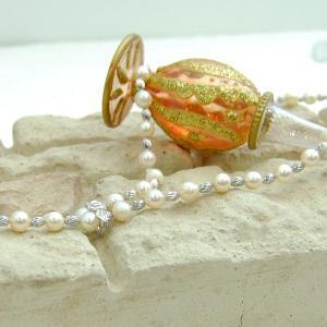 あこや本真珠 パールネックレス  7.5mm珠 ラリエットネックレス 大人 上品|japan-couture|02