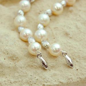 あこや本真珠 パールネックレス  7.5mm珠 ラリエットネックレス 大人 上品|japan-couture|04
