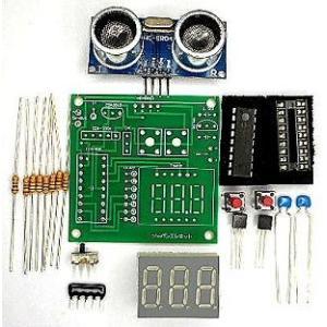 超音波距離計 7セグメントタイプ キット|japan-elekit