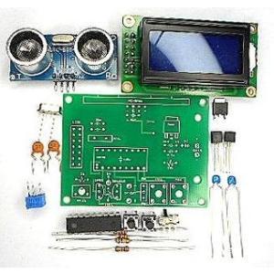 超音波距離計 LCDタイプ キット|japan-elekit