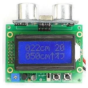 超音波距離計 LCDタイプ 完成品|japan-elekit