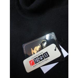日本国内でカシミヤ原毛を精製、縮絨加工、12ゲージ天竺編みのメンズ紳士カシミヤ100%トックリタートルネックセーターMサイズのブラック国産|japan-made-fullhouse|02