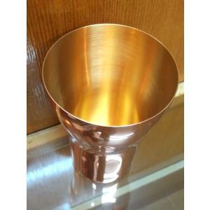 黄金に輝く燕市の金属グラスコップ、タンブラー、マグカップ黄金に輝く燕三条純金内面純銅製COMポーチ付国産日本製|japan-made-skittle|04