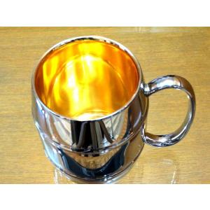 黄金に輝く燕市の金属グラスコップ、タンブラー、マグカップ黄金に輝く燕三条内面純金ステンレス製MSMポーチ付国産日本製|japan-made-skittle
