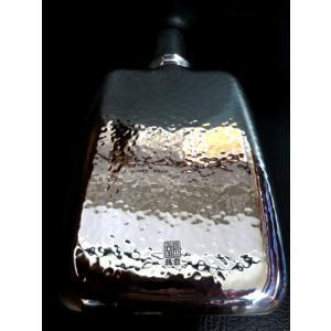 日本製スキットル蒸留酒用携帯ボトル燕三条産オリジナルポーチ&おもてなし栓抜き付純銀製180mlスピリッツ,焼酎,ウイスキー,ジン,ブランデー国産|japan-made-skittle|02