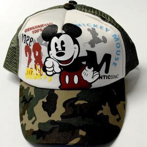 ミッキーキャップ Mickey Cap 迷彩|japan