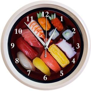 お寿司の壁掛け時計(おもしろ時計)|japan