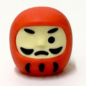 開運ミニ福だるま(2.5cm)消しゴム|japan
