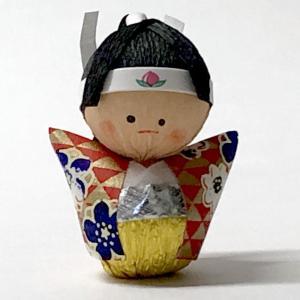 日本のおみやげ民芸玩具起き上がりこぼし人形 桃太郎|japan
