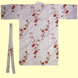 綿伴天 ハッピローブ 桔梗 赤|japan