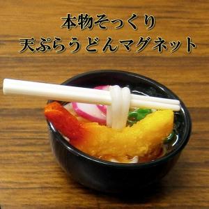 本物そっくり 天ぷらうどんマグネット japan