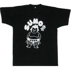 おもしろTシャツSUMO相撲 黒 2Lサイズ japan 02