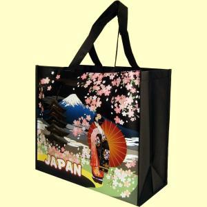 和柄おみやげバッグJAPAN|japan