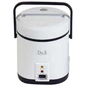 炊飯器 一人暮らし 1.5合 ギフト 結婚 出産 内祝い 内祝 お返し D&S ミニライスクッカー ホワイト DS.7703 (8)|japangift