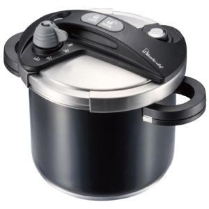 送料無料 キッチン用品 調理器具 鍋 圧力鍋 結婚 出産 内祝い 内祝 お返し ワンダーシェフ オースプラス 両手圧力鍋 5l ブラック 670076 (4)|japangift