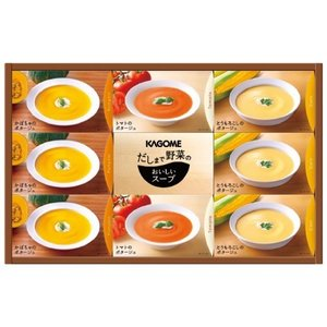 スープ ギフト 結婚 出産 内祝い 内祝 お返し カゴメ だしまで野菜のポタージュギフト DP-30 (5) 食べ物 食品|japangift