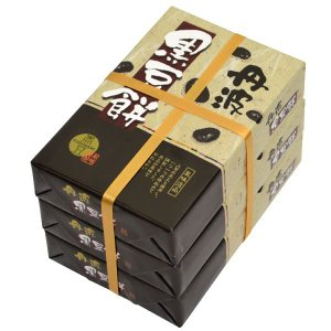黒豆餅三段 (10ヶ×3)|japangift