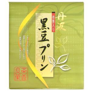 黒豆お茶プリン丹波 (6個)|japangift