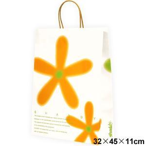 ギフトバッグ フラワー (紙袋) 大 サイズ:横32×縦45×マチ11cm ギフト|japangift