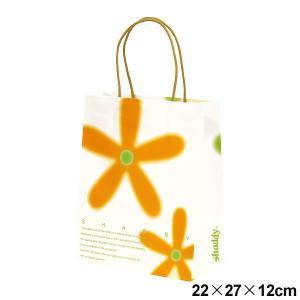 ギフトバッグ フラワー (紙袋) 小 サイズ:横22×縦27×マチ12cm ギフト|japangift