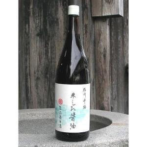 たつ乃屋本店 米しろ醤油 一升瓶 (1800ml)【のし・包装不可】|japangift