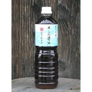 たつ乃屋本店 米しろ醤油 ペットボトル (大) (1000ml)【のし・包装不可】|japangift